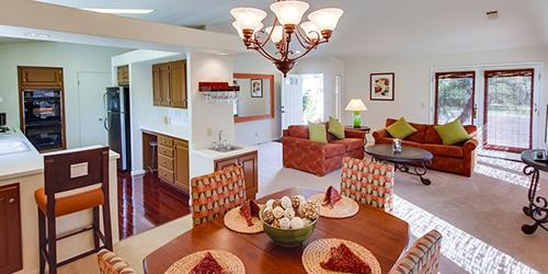 Enjoy a resort villa stay today