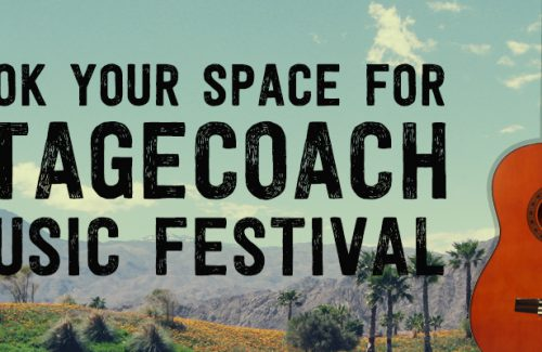 Join us for Stagecoach Festival in Indio