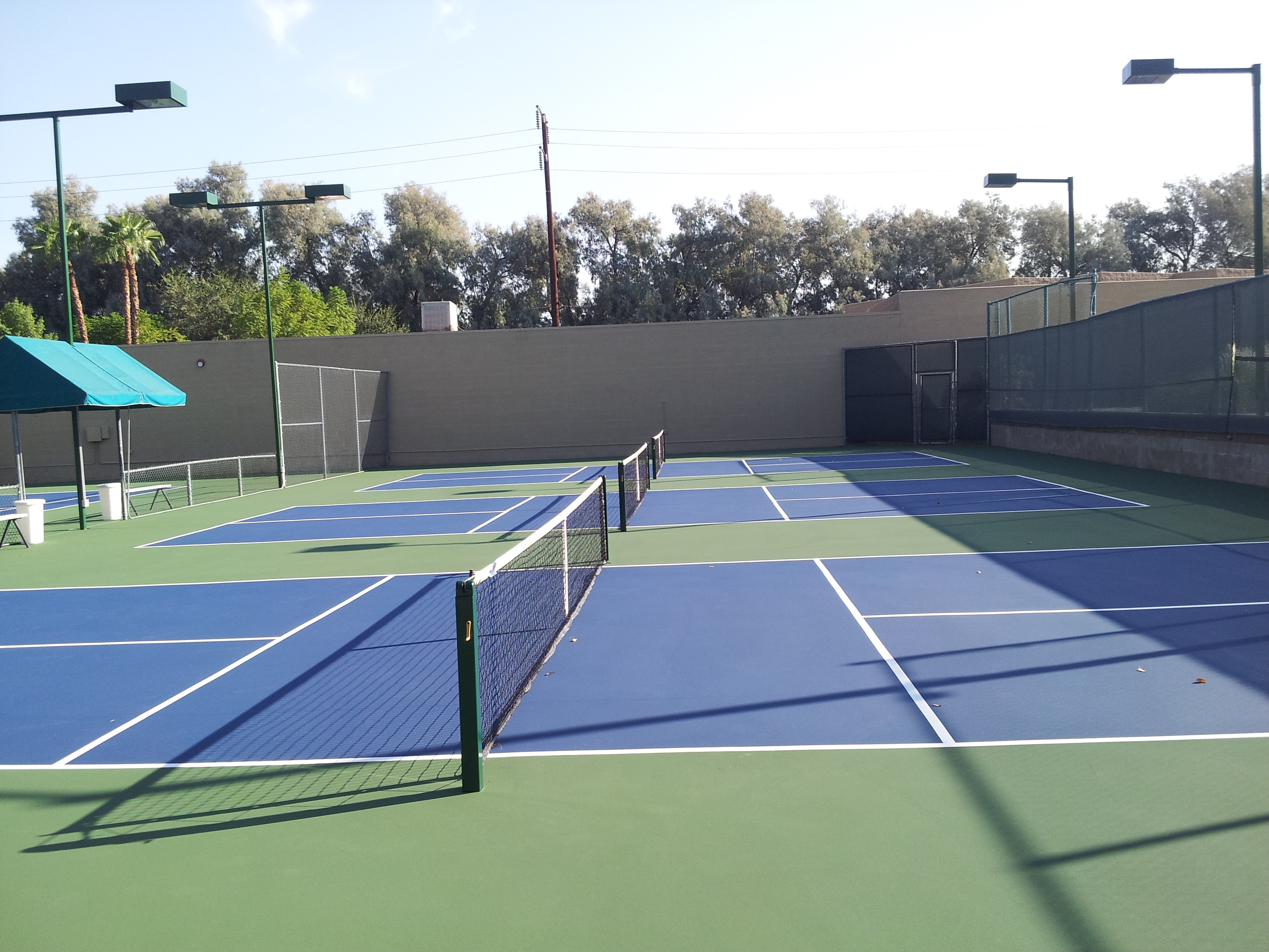 New Pickleball Courts At Emerald Desert