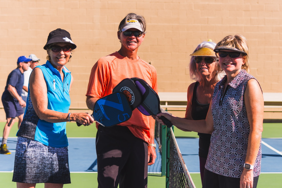 America's Love For Pickleball Heats Up At Emerald Desert RV Resort
