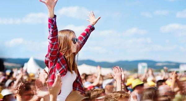 Big Music Festival In The Desert